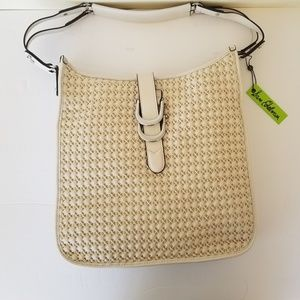 Sam Edelman Meryl Bone Bag NWT OP $200